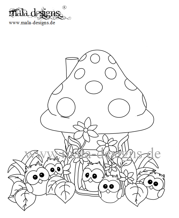 page toadstool house no. 2