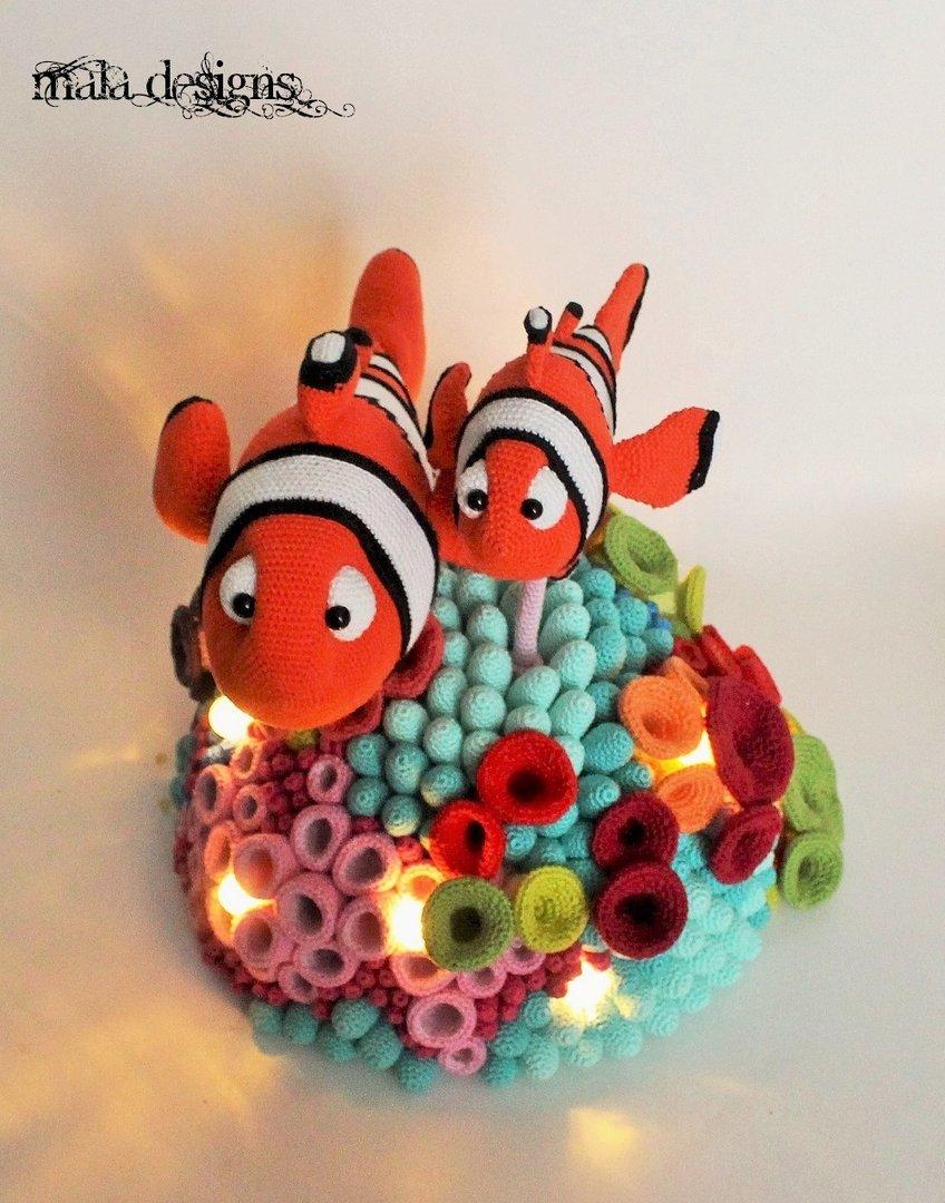 Clownfische mit Riff - mala designs ®