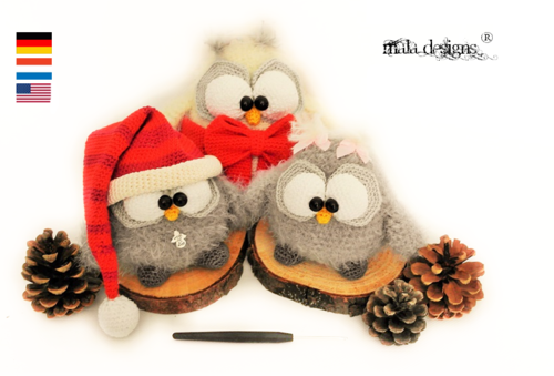 Guardian owls with charms