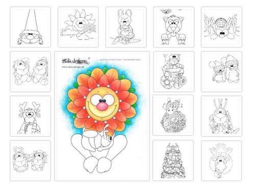 coloring pages Vol. II