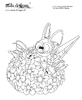 coloring page grasshopper