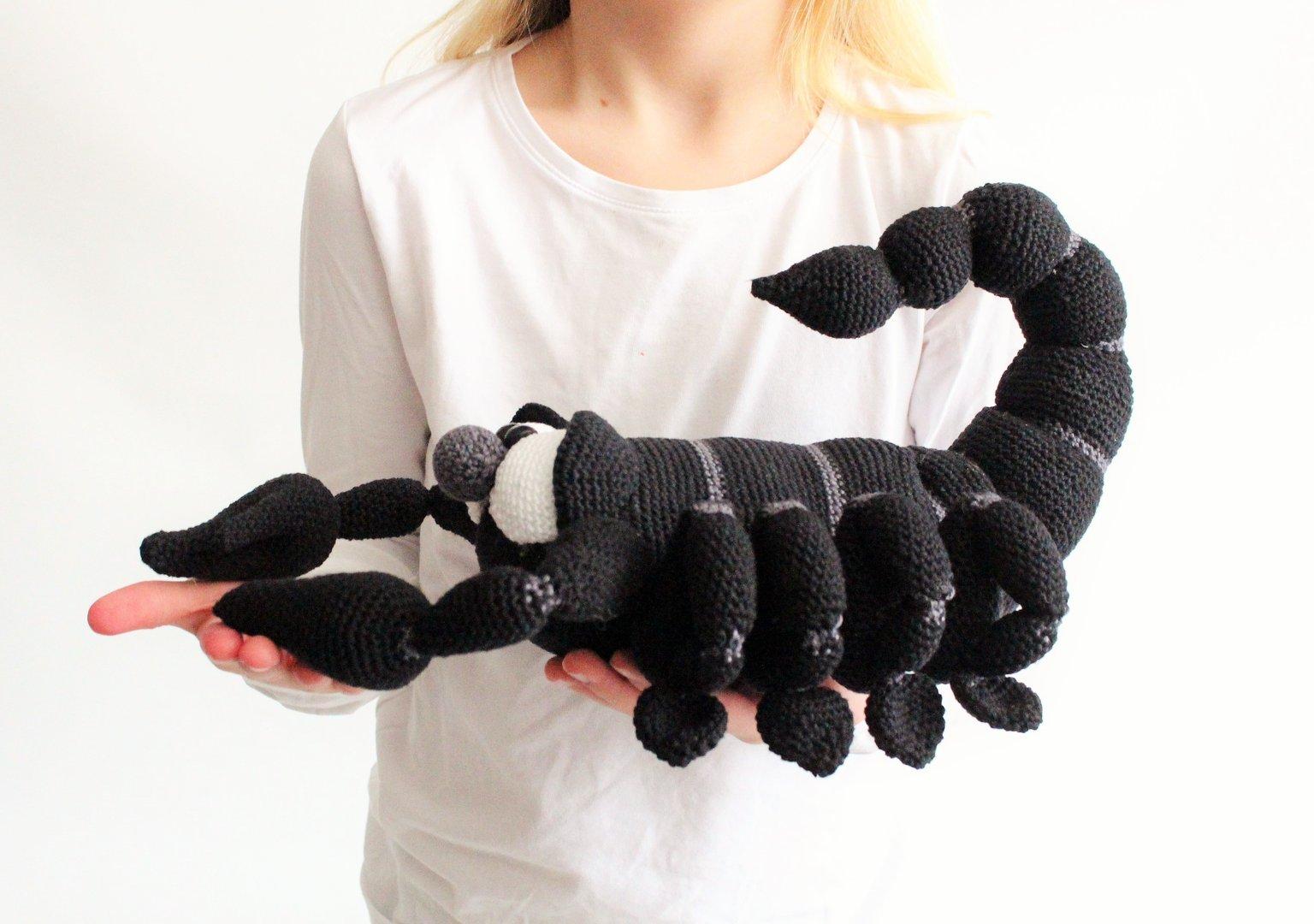 Großer Skorpion Mit Kaktus Mala Designs