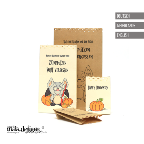 Paper bags for halloween